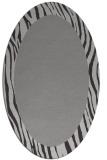 rug #1042776 | oval plain rug
