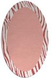 rug #1042790 | oval white borders rug