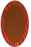 rug #1042834   oval stripes rug