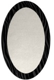 rug #1042846 | oval plain white rug