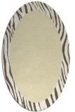 rug #1042878 | oval white borders rug