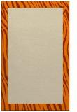 rug #1042926 |  orange stripes rug