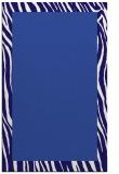rug #1043030    plain blue-violet rug