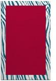 rug #1043046 |  plain red rug