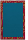 rug #1043050 |  plain blue-green rug