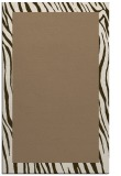 rug #1043082 |  mid-brown borders rug