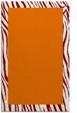 rug #1043134 |  plain orange rug