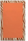rug #1043138 |  orange borders rug