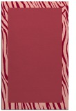 rug #1043154 |  plain pink rug