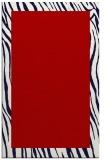 rug #1043178 |  plain red rug