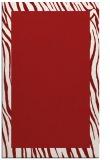 rug #1043186 |  plain red rug
