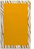 rug #1043278 |  plain light-orange rug