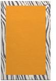 rug #1043290 |  plain light-orange rug