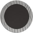 rug #1043510 | round orange stripes rug