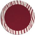 rug #1043518 | round plain pink rug
