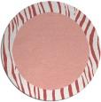rug #1043526 | round plain pink rug