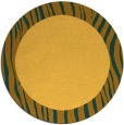 rug #1043622 | round light-orange animal rug