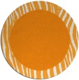 rug #1043654 | round light-orange animal rug