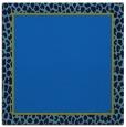 rug #1044062 | square plain blue rug