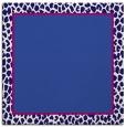 rug #1044134 | square plain blue-violet rug