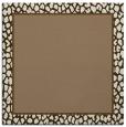 rug #1044186 | square plain mid-brown rug