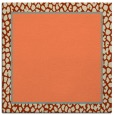 rug #1044242 | square beige animal rug