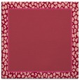 rug #1044258 | square pink borders rug