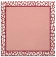 rug #1044262   square plain white rug