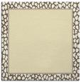 rug #1044350 | square yellow borders rug
