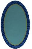 rug #1044432   oval plain rug