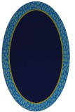 rug #1044433 | oval plain rug