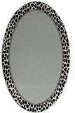 rug #1044544 | oval plain rug