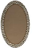 rug #1044554 | oval beige popular rug