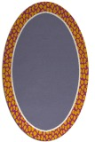 rug #1044569 | oval borders rug
