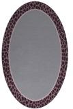 rug #1044647 | oval plain rug