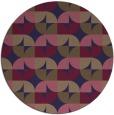 rug #104469 | round beige natural rug