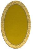 rug #1044716 | oval plain rug