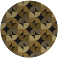 rug #104477 | round mid-brown natural rug