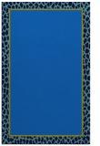rug #1044798 |  plain blue rug