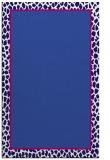 rug #1044870 |  blue-violet animal rug