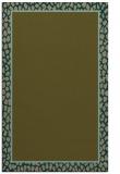 rug #1044882 |  plain mid-brown rug