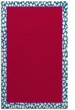 rug #1044886 |  plain red rug