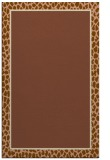 rug #1044914 |  mid-brown borders rug