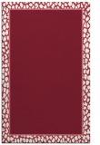 rug #1044990 |  plain pink rug