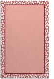 rug #1044998    pink borders rug