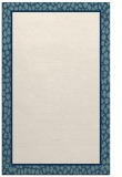 rug #1045074 |  plain blue-green rug