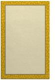 rug #1045082 |  plain yellow rug