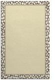 rug #1045086 |  plain yellow rug