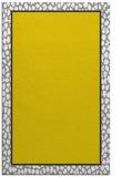 rug #1045090 |  plain yellow rug