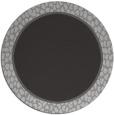 rug #1045350 | round plain red-orange rug